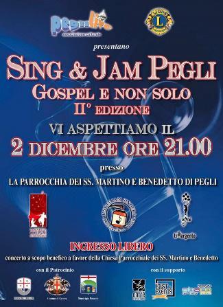 Sing & Jam Pegli – Gospel e non solo – II Edizione 2
